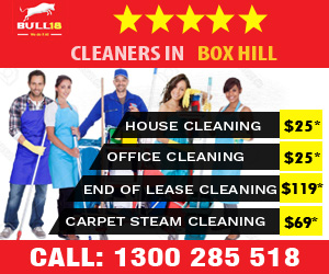 cleaning company Box Hill